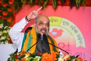 BJP president Amit Shah accused bureaucrats of stalling development and fixing BJD's rivals.