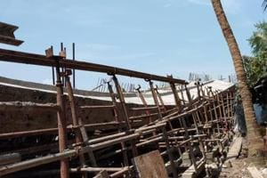 The bridge was being constructed over Kalnagini river in South 24 Parganas district.