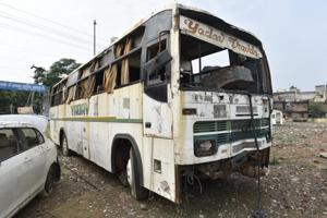 For years, the bus remained parked at the Saket court complex and later at the Vasant Vihar police station. A police team guarded it closely, until April this year when the SC told Delhi Police to get rid of all junk vehicles lying at police stations and clean their surroundings.