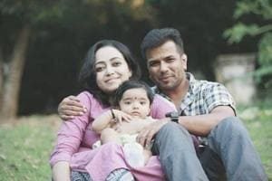 Balabhaskar and his wife have been injured in a car accident. Their daughter died in the accident.