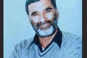 File photo of journalist Ram Chander Chhatarparti.