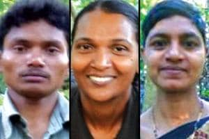 The police released the pictures of the Maoists who gunned down Telugu Desam Party MLA Kidari Sarveswara Rao and his party colleague and former legislator S Soma in Andhra Pradesh's Visakhapatnam district on Sunday.