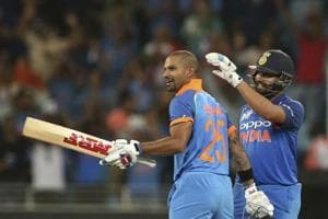 Shikhar Dhawan (327) and skipper Rohit (269) have done the bulk of the scoring in the four matches so far with very little contribution being required from the other batsmen in the Indian line-up.