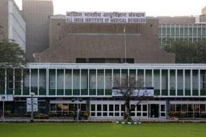 The All India Institute of Medical Sciences (AIIMS) in New Delhi.