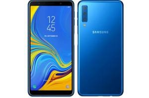 Samsung Galaxy A7 2018 features a 2.5D glass back with Gorilla Glass 3 protection up front.