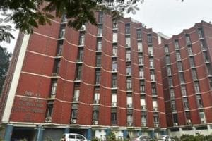 A general view of Election Commission in New Delhi.