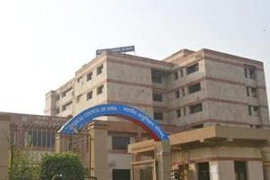 The Medical Council of India building in New Delhi.