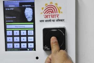 The UIDAI collects demographic and biometric data of an individual during enrolment.