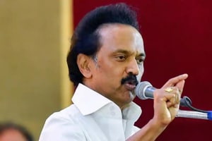 MK Stalin, president of Dravida Munnetra Kazhagam (DMK), was admitted to the Apollo hospital in Chennai after he complained of discomfort late Wednesday night.