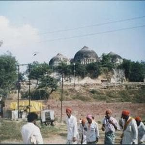 The Babri mosque in Ayodhya was destroyed in 1992 by karsewaks who brought it down insisting it was the birthplace of Lord Ram and that a temple should stand at the disputed site.