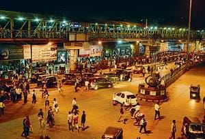 The Kalyan traffic police and RTO has initiated a special drive against autos blocking the station in Kalyan.