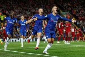 Soccer Football - Carabao Cup - Third Round - Liverpool v Chelsea - Anfield, Liverpool, Britain - September 26, 2018 Chelsea