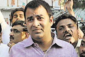 Unknown assailants opened fire and hurled a grenade at the Meerut residence of BJPMLASangeet Som, September 27, 2018. The lawmaker escaped the attack.