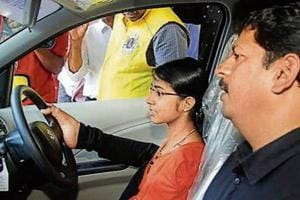 Jilumol Mariet Thomas procured an order from Kerala high court to apply for licence to drive car with her legs.