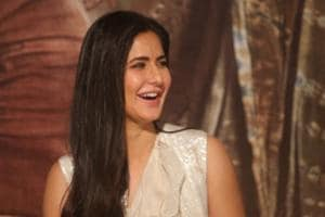 Katrina Kaif at the trailer launch of her upcoming film Thugs of Hindostan in Mumbai on September 27, 2018.