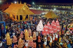 The argument that Lord Ayappa as a deity was a juristic person and cannot be denied his rights under the Constitution too was dismissed by the court.