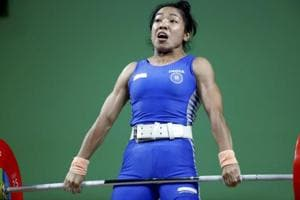 Mirabai Chanu, who clinched gold at the 2018 Commonwealth Games, was awarded the country's highest sporting honour.