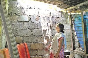 Pathanamthitta, India – September 05, 2018: Thankamma, a 68-year-old cancer patient at Attathodu village in Ranni Block of Pathanamthitta District of Kerala, India on Wednesday, September 05, 2018.