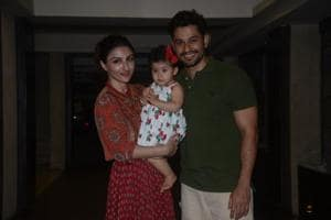 Kunal Kemmu and Soha Ali Khan's daughter, Inaaya Naumi Kemmu, turned one on Saturday.
