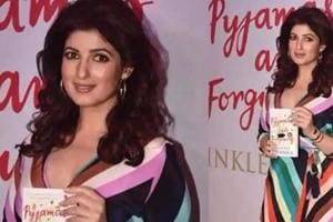 Twinkle Khanna at the launch of her new book Pyjamas Are Forgiving