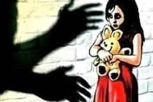 A 20-year-old man was arrested for allegedly raping a one-year-old girl and molesting her four-year-old sister in Indore on Friday night.