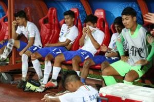 India were beaten 0-1 by South Korea in the quarter-finals of the AFC U-16 Championship.