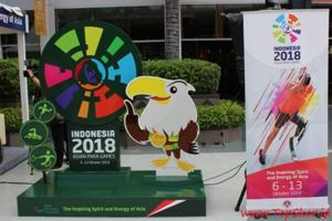 Representative image for the Asian Para Games 2018 in Indonesia.