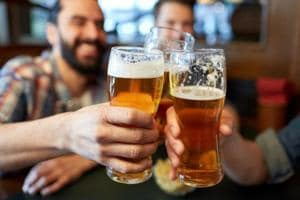 Alcohol can cause of buildup of plaque in the arteries.
