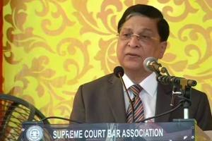 The outgoing chief justice on India Dipak Misra said that justice must have a human face.