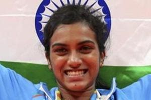 PVSindhu is one of India's topmost badminton players.