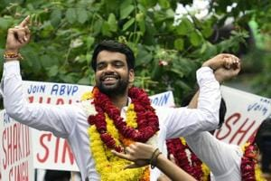 Ankiv Baisoya, a RSS-affliated AVBP, was elected as DUSU president this year. The NSUI  has alleged that Baisoya submitted fake documents to get admission to the Master's in Buddhist Studies programme at Delhi University.