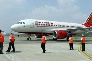 Air India intends to attract more passengers by putting bigger planes on domestic routes.