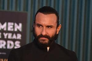 Saif Ali Khan attends the GQ Men of the year Awards ceremony in Mumbai.