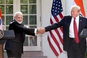 US president Donald Trump Saturday said that India wants to have a trade deal with the US because it does not want him to impose tariffs on their products.