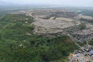 So far, Mulund dumping ground handled 1,500-2,000 metric tonnes of waste a day.