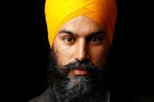 Jagmeet Singh became the first-ever person from a visible minority background to capture the leadership of a major Canadian political party, winning the race to lead the New Democratic Party (NDP) in the very first round of balloting.
