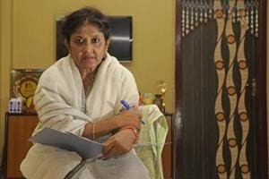 Sita Ghosh, who will play Mamata Banerjee's role in the play