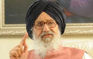 Former chief minister Parkash Singh Badal
