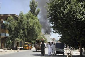 No one immediately claimed responsibility for the attack in Nangarhar, where both the Taliban and an Islamic State affiliate are active.
