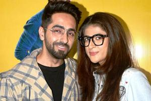 Ayushmann Khurrana has stood by his wife Tahira Kashyap's side as she fights breast cancer. (Instagram)