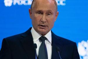 """Russian President Vladimir Putin on Wednesday branded former double agent Sergei Skripal a """"traitor"""" and a """"scumbag"""", saying Moscow knew he had cooperated with foreign intelligence after his release in a spy swap."""