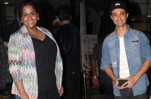 A special screening was held for Aayush Sharma