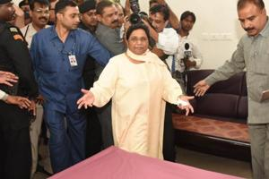 BSPchief Mayawati on Wednesday ruled out an alliance with the Congress in two key states and launched a furious attack on the leadership of the grand old party.
