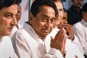 Madhya Pradesh Congress president Kamal Nath during the party