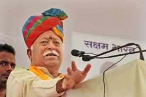 RSS chief Mohan Bhagwat has said even opposition parties cannot openly oppose a Ram temple in Ayodhya as the deity is revered by the country's majority.