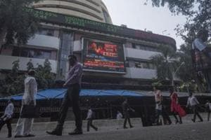 All sectoral indices were trading in the red, with IT, auto, pharma, banking and realty stocks witnessing most losses.