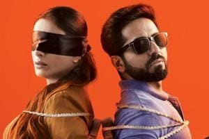Andhadhun movie review: Tabu and Ayushmann Khuranna impress once again with their performances in the film.