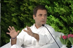 Willing to be PM if allies want me to, says Rahul Gandhi at HTLS 2018