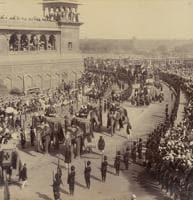 A photo of Delhi durbar from 1903.