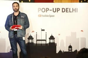 Marc Lefkowitz, Head of YouTube Creator and Artist Development, at the Pop-Up Space launch.